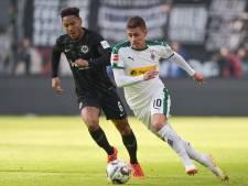 Borussia Mönchengladbach pakt punt bij Eintracht Frankfurt