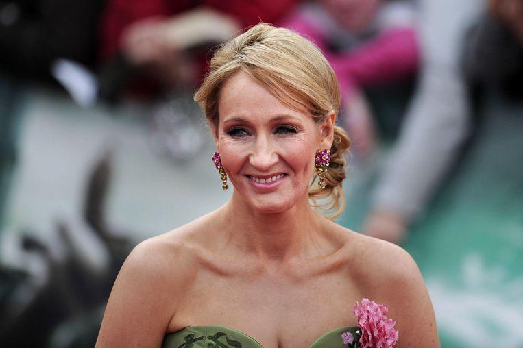 J.K. Rowling Beeld afp