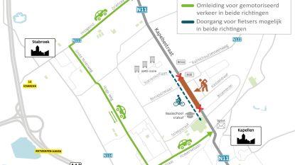 Vernieuwing wegdek Kapelsestraat uitgesteld