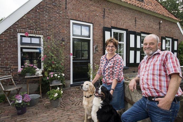 Joke Leerink en Jan Buter bij Erve Zwaleman in Noordijk