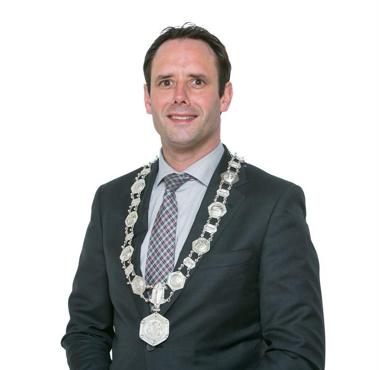 """Harm-Jan van Schaik, burgemeester van Harderwijk: """"Misschien zijn wij in Harderwijk een voorbeeld."""" Beeld Gemeente Harderwijk"""