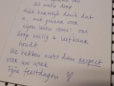 Doos chocola als steun voor Winterswijkse politie na heftig weekend
