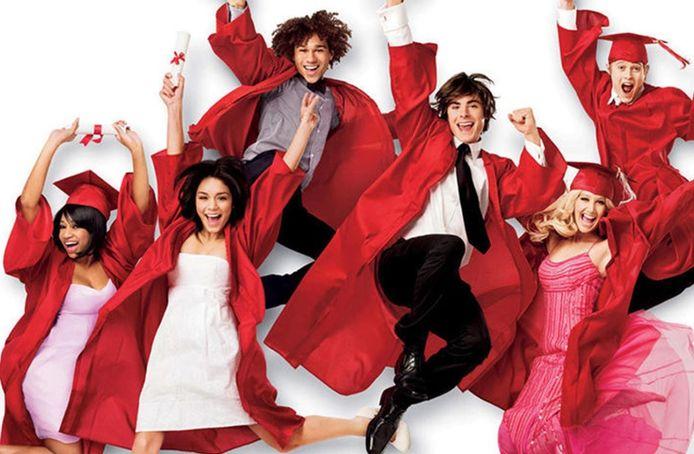 De cast van 'High School Musical'.