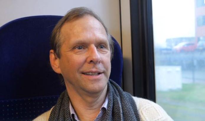 Henk Puts reed mee in de eerste zelfrijdende trein.