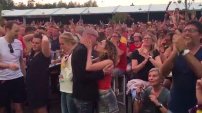 Ongeloof en euforie: zo reageert Rock Werchter op overwinning Rode Duivels