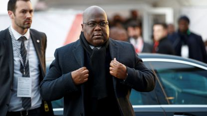 """Koning Filip heeft Congolese president Tshisekedi ontvangen voor """"privéontmoeting"""""""