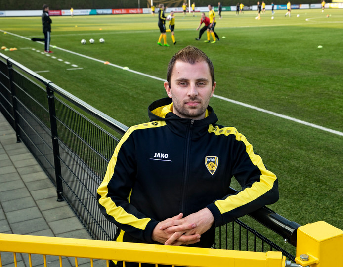 Aart Verberne voetballer bij de Valk Valkenswaard