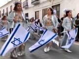 'Holocaustgroep' schokt met Spaanse carnavalsoptocht