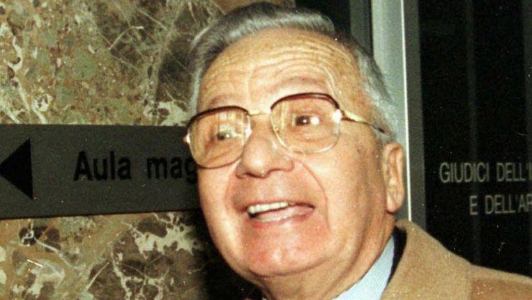 Licio Gelli in 1996 Beeld epa