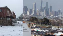 Zomer in Australië, maar nu al sneeuw in Tasmanië