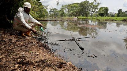 """Olielek in Colombia na een maand onder controle maar """"noodtoestand blijft van kracht"""""""