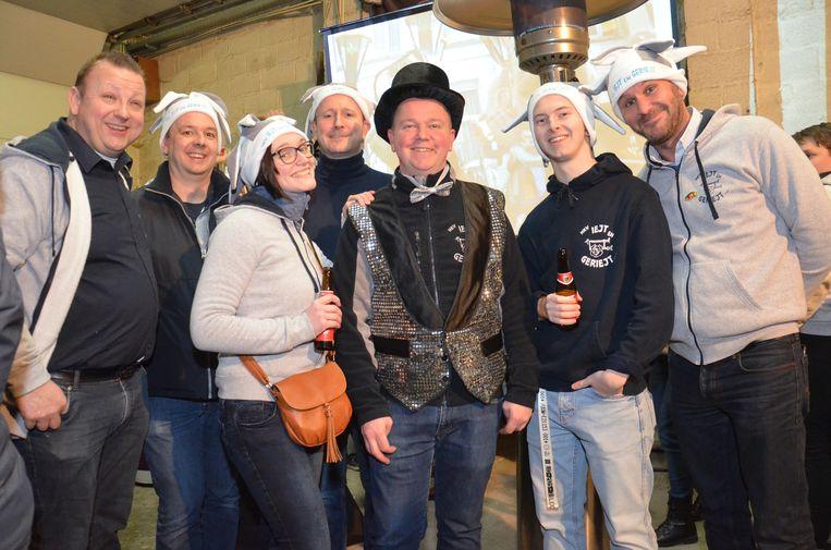 Carnavalsgroep Iejt & Geriejt viert haar 20-jarig jubileum.