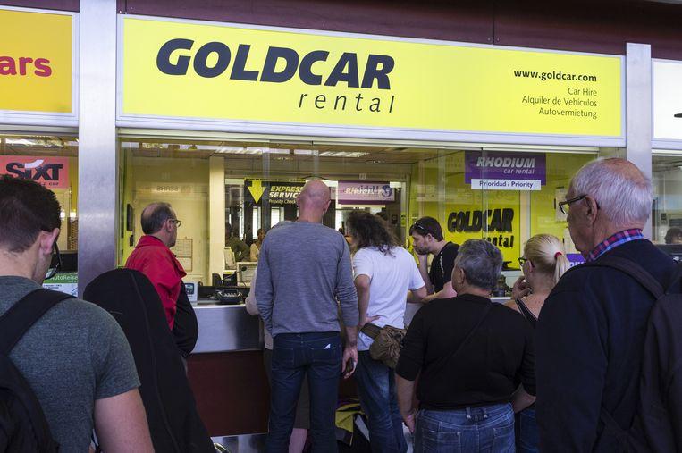 Goldcar rental office
