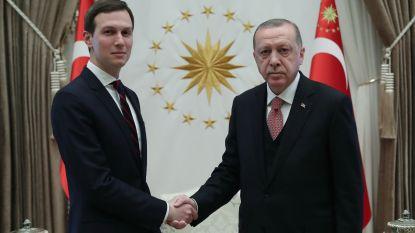 Trumps schoonzoon spreekt met Erdogan over vredesplan voor Israëlisch-Palestijns conflict