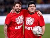 """Maradona Junior obligé de dire au revoir à son père depuis Naples: """"J'ai pleuré toute la semaine"""""""