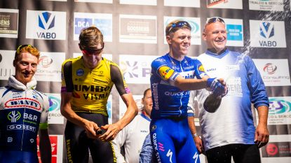 The day after: Remco Evenepoel gaat op elan door en wint dernycriterium in Putte