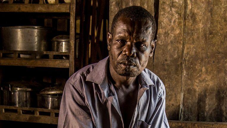 Johnson Odonga. Beeld Frederic Noy