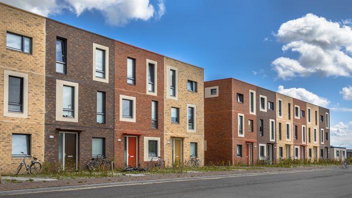 Foto van Nederlandse nieuwbouw ter illustratie.