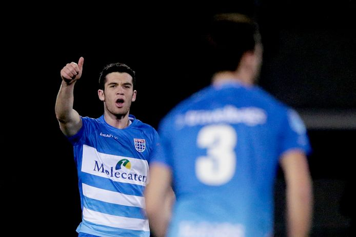 Pelle Clement keert terug in de selectie van PEC Zwolle. Al begint de vleugelaanvaller zondag tegen PSV wel op de bank.