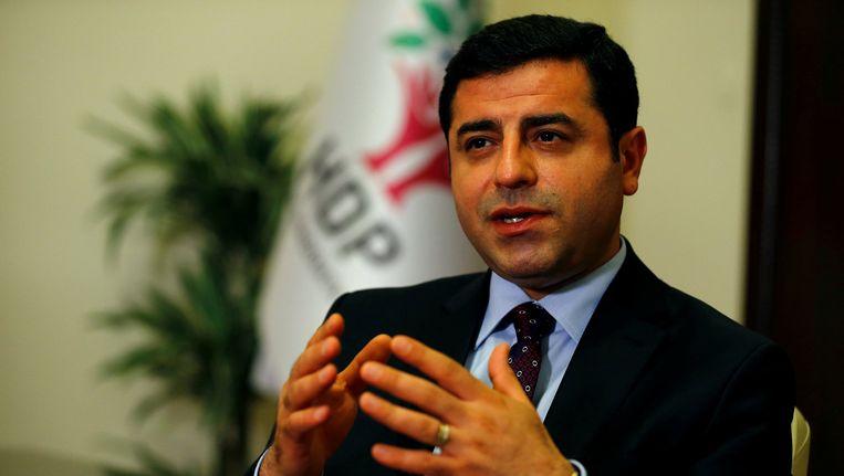 Voormalig mensenrechtenadvocaat Selahattin Demirtas Beeld Reuters