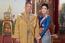 Rama X en Sineenat