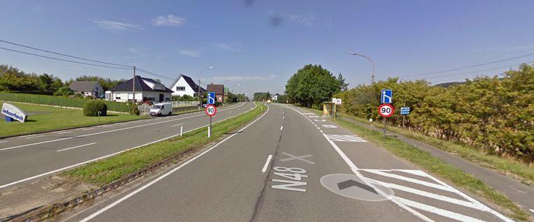 De Ninoofsesteenweg krijgt een nieuwe laag asfalt in juni.