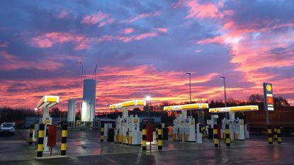 Shell opent 'ecologisch' tankstation voor vrachtwagens op Oude Bunders