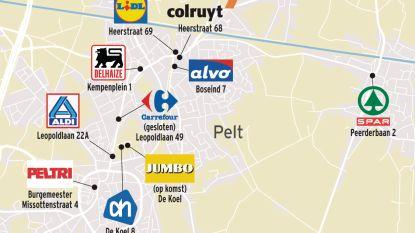 Welkom in Pelt, strijdtoneel van de supermarkten: negen winkels maken zich op voor prijzenoorlog