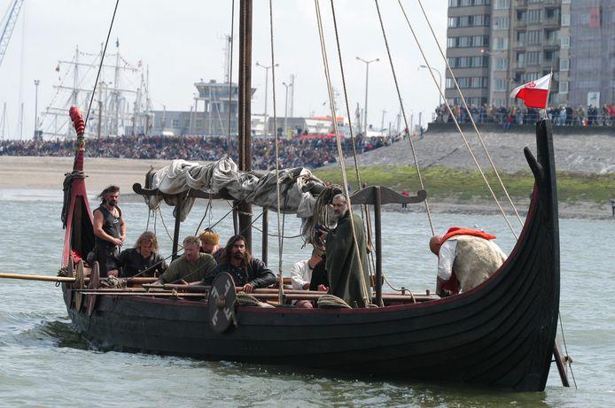 Vikings op Oostende voor Anker in 2003