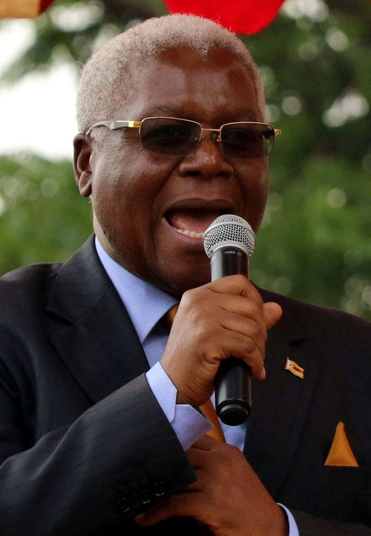 De Zimbabwaanse minister van Financiën Ignatius Chombo is aanhanger van Grace Mugabe.
