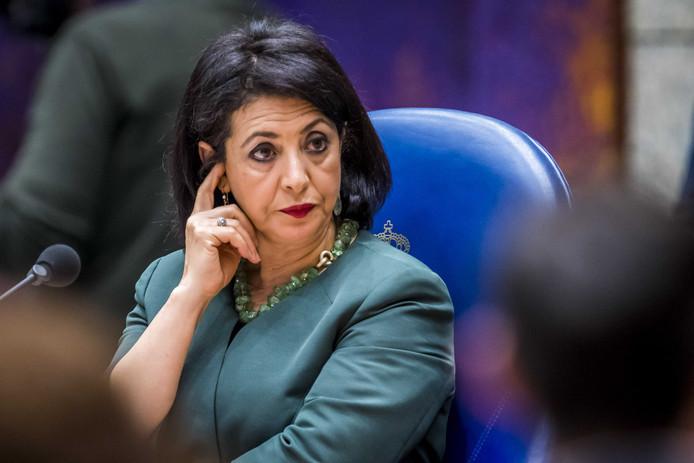 Kamervoorzitter Khadija Arib