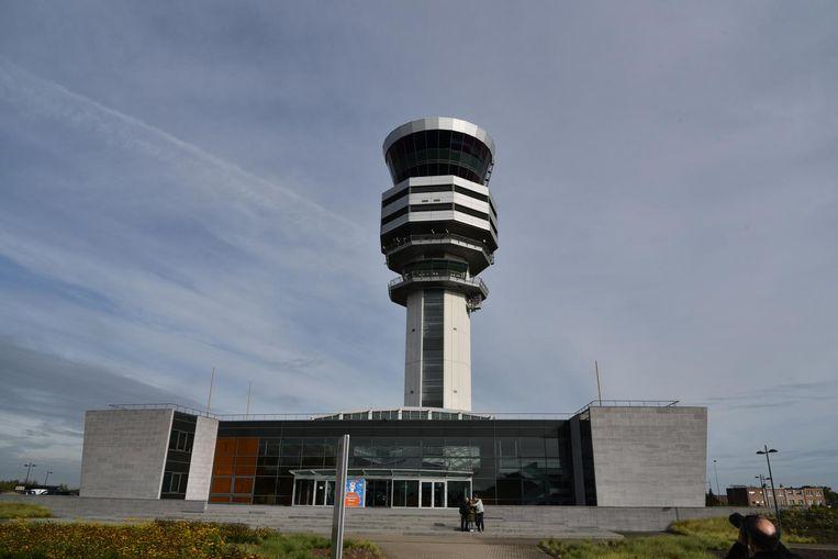 De bezoekers konden vanuit de controletoren zien hoe Belgocontrol de veiligheid van het verkeer garandeert.