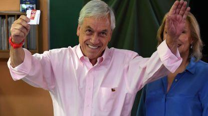 Oud-president Sebastián Piñera wint Chileense verkiezingen