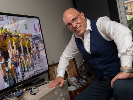 Gert Jakobs is ook in september helemaal in de ban van de Tour de France