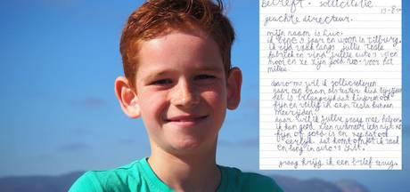 Droom komt uit voor 9-jarige Luc na sollicitatie bij Tesla