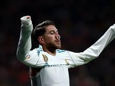 Sergio Ramos houdt gebroken neus over aan derby