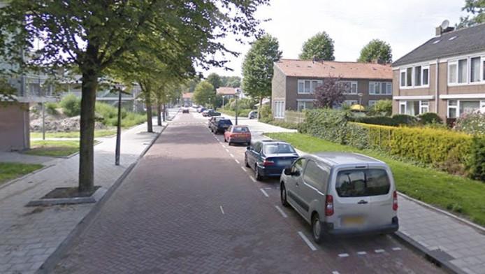 De politie kreeg vannacht een melding over drie mannen met maskers in de Bernard Loderstraat.