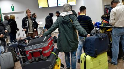 Nog klein aantal koffers wacht op eigenaar op Brussels Airport na staking Aviapartner