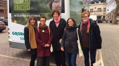 Groen trapt campagne af met elektrische bus