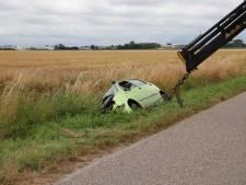 Automobilist gewond bij eenzijdig ongeval in Eede
