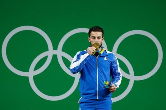 Kianoush Rostami won olympisch goud in Rio.