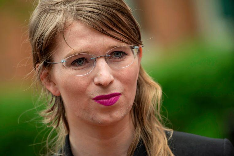 Chelsea Manning. Beeld AFP