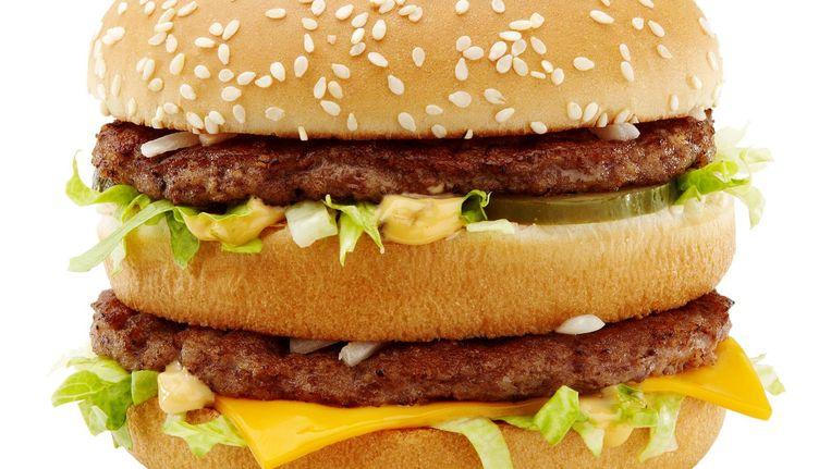Als we een logo eenmaal associëren met een snack, is het moeilijk ons daar nog aan te onttrekken Beeld -