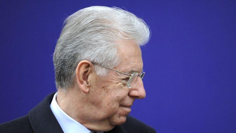De voormalige Italiaanse premier Mario Monti Beeld ANP