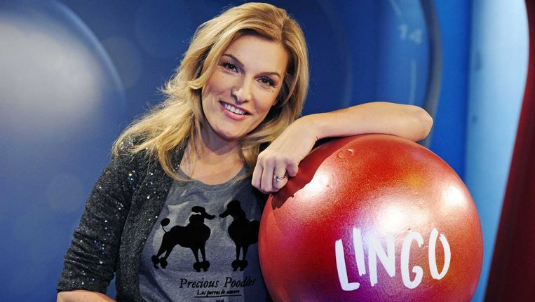 Lucille Werner presenteert al negen jaar 'Lingo'.