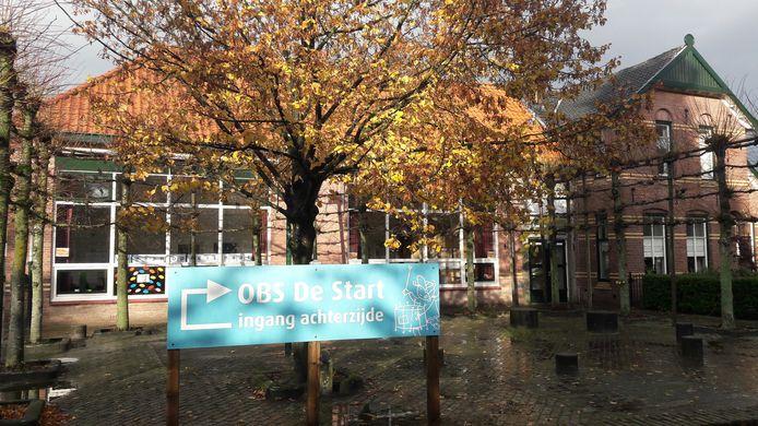 Openbare basisschool De Start aan de Middelstraat in De Moer.
