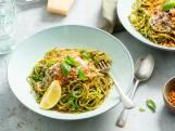 Recept van de Dag: Spaghetti met spinaziepesto