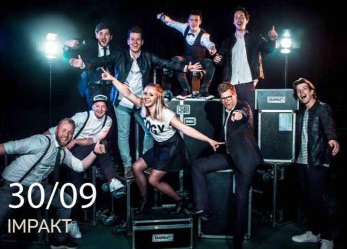 De band Impakt sluit de feestweek op zondag 30 september af.
