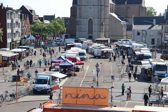De dinsdagmarkt lokte in totaal 2.257 bezoekers.