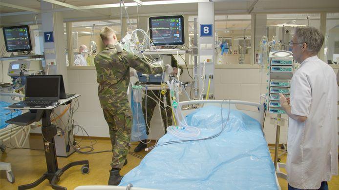 Militairen gaan het UMC versterken